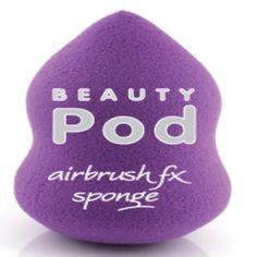 The Beauty Pod Airbrush FX Sponge in Purple Color. Buy it in Livshop