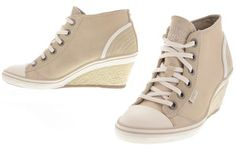 Esprit - Lexa Lu Wedge Beige Shoes, Wedges, Sneakers, Fashion, Moda, Sneaker, Wedge, Fasion, Fashion Illustrations