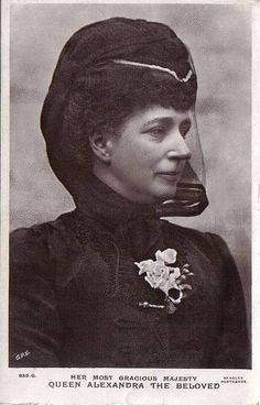 Königin Alexandra von England, Queen of Britain, nee Princess of Denmark by Miss Mertens, via Flickr