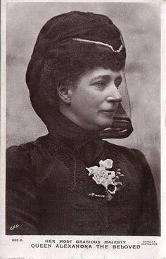 Queen Alexandra. She is great grandmother to HM Queen Elizabeth II.