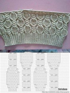 Motifs avec des aiguilles à tricoter. Prenez une boîte à pièces). might make a nice single column, mb with some other shapes as a focus Cable and seed stitch chart knitting pattern This Pin was discovered by Оль Welcome to Scarlet Webmail Cable Knitting Patterns, Knitting Stiches, Knitting Charts, Lace Knitting, Knitting Designs, Knit Patterns, Knitting Projects, Stitch Patterns, Knit Stitches