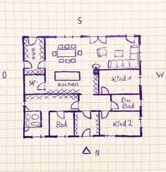 Innenarchitektur:Tolles Bungalow Grundriss Planung Katis Grundrisse Archive Planen Bauen Wohnen bungalow grundriss planung