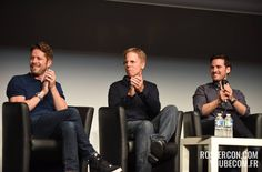 Sean Maguire, Greg Germann and Colin O'Donoghue at Xivents. #FT4 - 19th June 2016