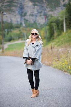 Merritt Beck from The Style Scribe featuring Rag & Bone, J Brand and Armani Collezioni.