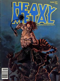 Cover for Heavy Metal Magazine (HM Communications, Inc. Heavy Metal Comic, Heavy Metal Rock, Metal Fan, Bill Ward, Amon Amarth, Dream Theater, Power Metal, Ozzy Osbourne, Metal Magazine