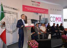 Inaugura Jefe de Gobierno Centro de Salud T-III San Gregorio Atlapulco, en Xochimilco
