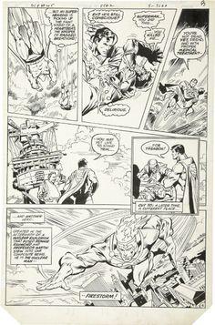 Rich Buckler and Bob Smith - DC Comics Presents 45 page 6 Original Art.jpg (825×1250)