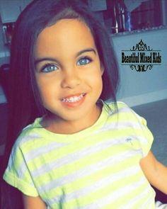 Alanna - 4 Years • Puerto Rican, Filipino, Italian & African American ❤ FOLLOW @beautifulmixedkids on instagram WWW.STYLISHKIDSAPPAREL.COM