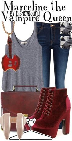 Adventure Time - Marceline  For my cosplay outfit. #cosplay #adventuretime  CREATED BY DISNEYBOUND