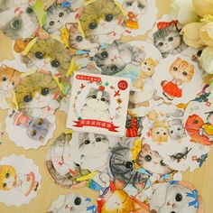 $1.01 (Buy here: https://alitems.com/g/1e8d114494ebda23ff8b16525dc3e8/?i=5&ulp=https%3A%2F%2Fwww.aliexpress.com%2Fitem%2F80-pcs-2-boxes-cute-fat-cat-mini-paper-sticker-set-decoration-DIY-diary-scrapbooking-sealing%2F32558294092.html ) 40 pcs/box cute fat cat mini DIY paper sticker set decoration diary scrapbooking seal sticker School Supplies for just $1.01