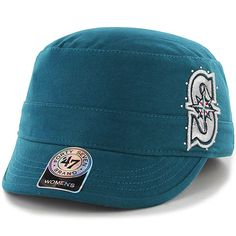 Seattle  Mariners Women s Facet Military Adjustable Cap by  47 Brand  24.99  Seattle Fashion 63a7ef1e0a