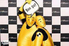 Custom printed photo booth backdrop for RACQ Motorfest | The Photo Booth Guys