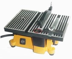 """4"""" Mini Electric Table Saw with 2 Blades - Power Table Saws - Amazon.com"""