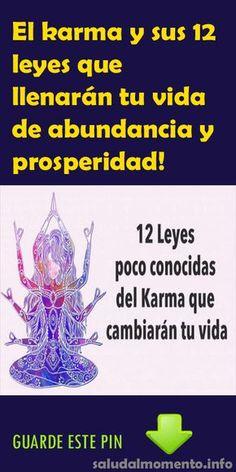 El karma y sus 12 leyes que llenarán tu vida de abundancia y prosperidad! - Salud por Día