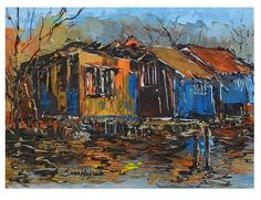 Medium:Acrylic on canvas with knife Oil, Canvas, Medium, Handmade, Painting, Tela, Painting Art, Canvases, Craft
