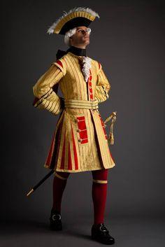 Trompette des Gendarmes de la Garde du Roy, c.1722