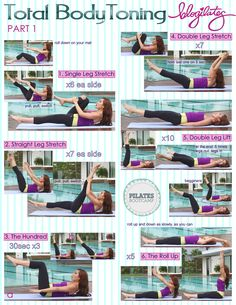 Pilates Bootcamp Total Body Toning Part 1