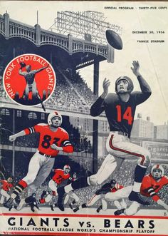 1956 NFL title program