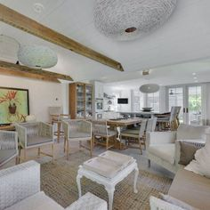 Meticulously renovated, with an expansive addition, this 3,600 sq.ft. home has it all in the heart of East Hampton Village for $3,350,000. For details call Sheila Delaney, RE Salesperson, 917.742.4581. #luxuryrealestate #realestate #dreamhome #hamptonslife #luxuryhomes #hamptonsrealestate #wealth #hamptons #homebuyers #easthampton #interiordesign #design #interiors #decor #staging #livingroom #greatroom #diningroom #kitchen