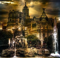 Plaza de Cibeles, Madrid, España, Spain