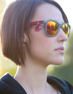 WSU Sunglasses #GoCougs #WSU #Wazzu