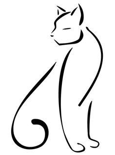 рисунки кошек