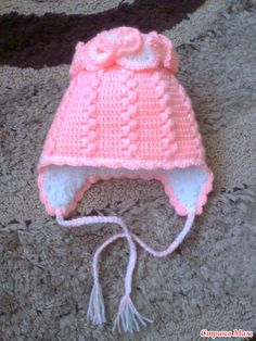 шапочка и шарфик для девочки. Обсуждение на LiveInternet - Российский Сервис Онлайн-Дневников