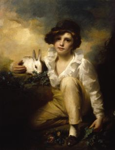 Sir Henry Raeburn's Boy and Rabbit.