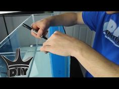 HOW TO: Build a fully integrated aquarium filter - Internal sump TUTORIAL - YouTube
