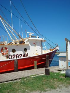 One of the many fishing Trawlers in Wanchese.