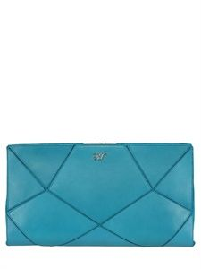 ROGER VIVIER - PRISMICK SUEDE AND NAPPA LEATHER CLUTCH - LUISAVIAROMA - LUXURY SHOPPING WORLDWIDE SHIPPING - FLORENCE