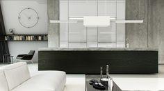 Minimalistyczna rezydencja | Berlin | architektura i architektura wnętrz | troomono