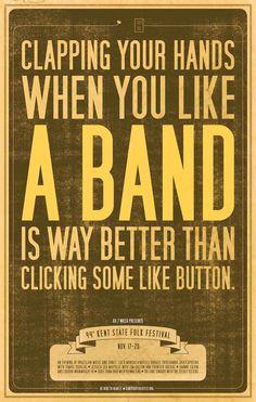 Ain't that the truth, Ruth...keep music live!!
