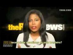 O canal americano The Real News fala da politica no Brasil