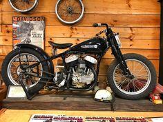 American Motorcycles, Cool Motorcycles, Vintage Motorcycles, Harley Davidson Motorcycles, Custom Bobber, Custom Bikes, Flat Track Racing, Harley Panhead, Flat Tracker