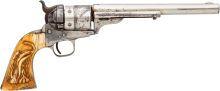 Handguns:Single Action Revolver, Colt Model 1860 Army Richards-Mason Conversion Revolver....