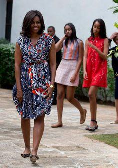 Malia and Sasha Obama Have the World's Best Spring-Break Style