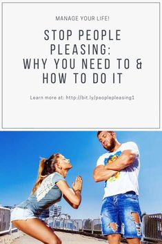 Are you a people pleaser? Learn how to stop people pleasing and why you need to.