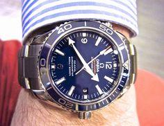 Sportswatchblogger - Sportuhren Blog : Omega Seamaster Planet Ocean 42 Co-Axial Titan / L...