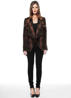 BB Dakota Official Store, Ash Jacket, brown, Outerwear : Jackets, BC32880