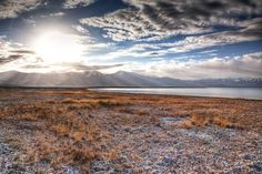 Karakul Lake in the Xinjiang Uyghur Autonomous Region of China
