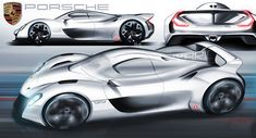 This is how a Porsche 919 for the road could look!