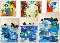 les petites têtes de l'art: Inspiré de Jenni Rope et de WAOUW, Petit Navire !