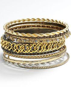 Jennifer Lopez Bangle Bracelet Set