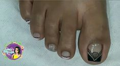 Toe Nail Designs, Manicure And Pedicure, Toe Nails, Diana, Toenails, Work Nails, Pretty Toe Nails, Simple Toe Nails, Toe Nail Art