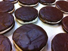 Marshmallow Moon Pies! #pastry