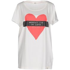 Only T-shirt ($26) ❤ liked on Polyvore featuring tops, t-shirts, white, white cotton tee, short sleeve tops, jersey tee, white cotton tops and white short sleeve t shirt