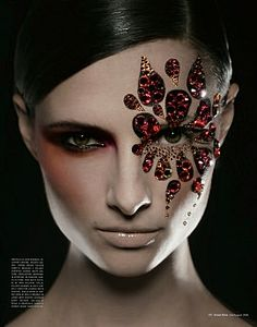 Jewels of Fury :: Makeup by Paul Innis