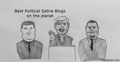 Top 20 Political Satire Websites and Blogs on the Web