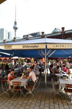 Weihenstephan - offisielt verdens eldste bryggeri fra år 1040! Dette bayerske bryggeri har restaurant på Hackeschen Markt.